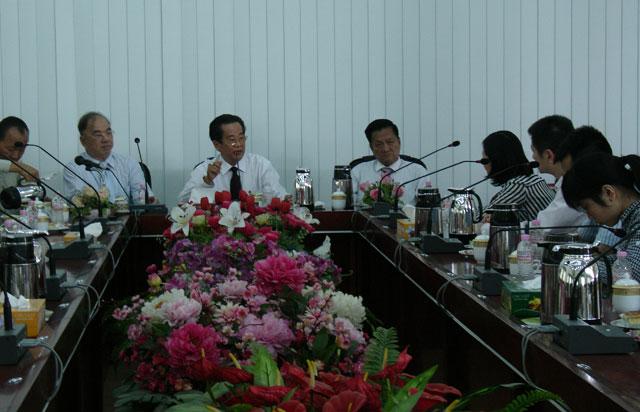中国北京环球时报记者代表采访缅甸华商商会