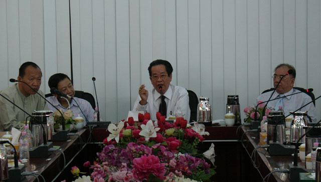 缅甸华商商会开始申办2017年第14届世界华商大会