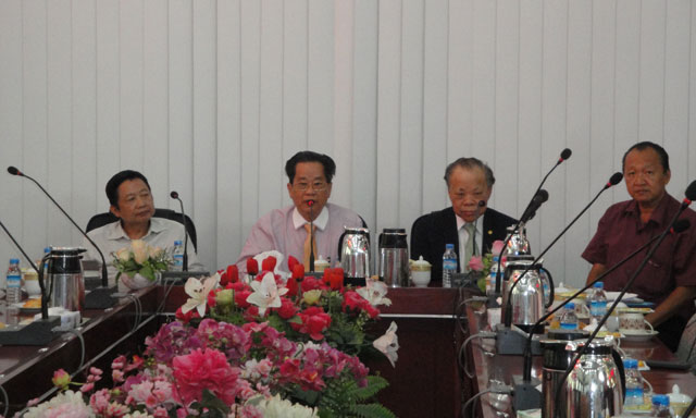 泰国中华总商会代表团访问缅甸华商商会 支持缅甸华商商会申办世界华商大会