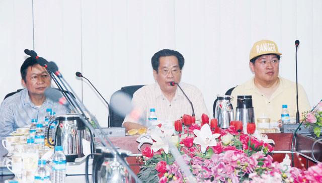 缅甸华商商会热烈欢迎香港缅甸商会代表团到访