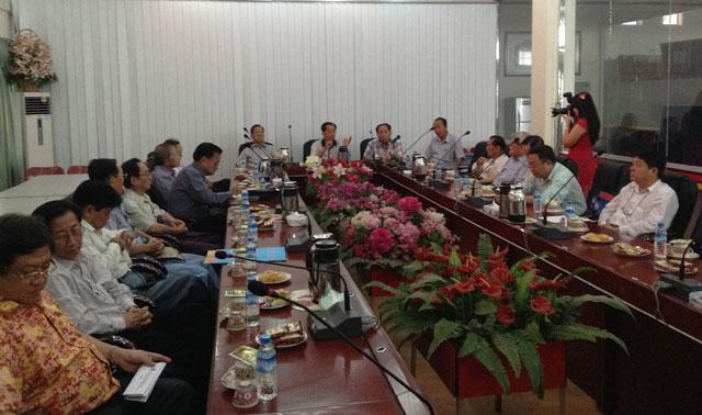 缅华最大的项目—孔子课堂 历经艰苦 风雨不惧 团结一致 鼓足干劲取得统一共识 可望建校在即