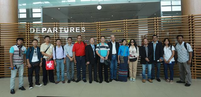 缅甸华商商会组团参加缅甸华社文化交流活动行 实地考察 亲身体会 促进友谊 共謀发展