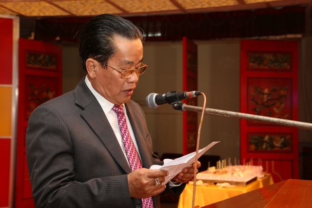 缅甸中华总商会隆重举行历年会员大会