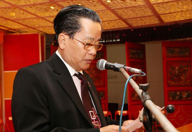 海南省人民政府刘赐贵省长 访问缅甸中华总商会并与缅华各界代表相聚一堂