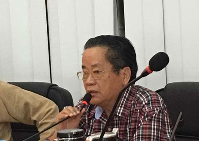 缅甸中华总商会吴继垣会长会见广东省侨商代表团