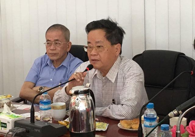 缅甸中华总商会与到访的山东省工商业联经贸代表团座谈