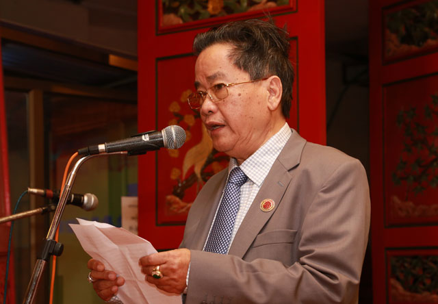 缅华各界社团热烈欢迎中国侨联乔卫副主席一行到访缅甸