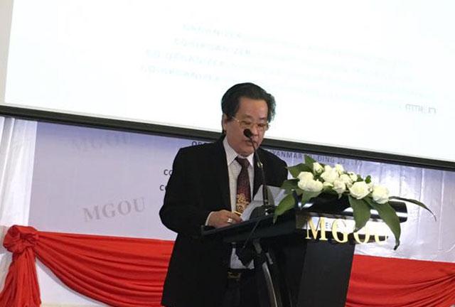 """缅甸中华总商会聘任""""MGOU""""品牌 总裁张 恒先生为名誉会长"""
