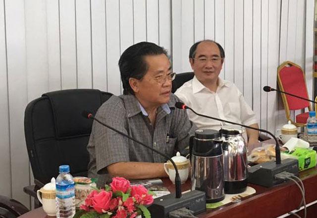 缅甸中华总商会与中国海马汽车集团举行会谈