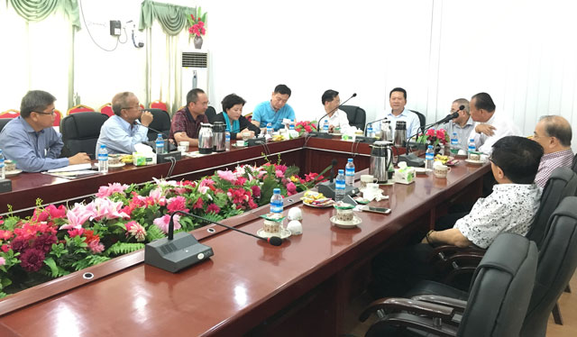 缅甸中华总商会热情欢迎中国北京海外联谊会代表团