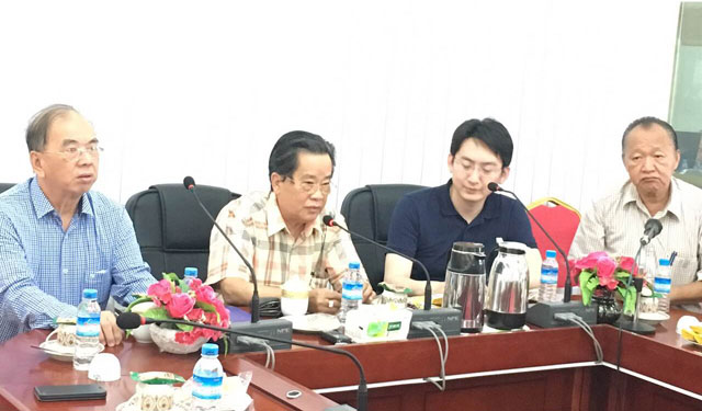 缅甸中华总商会热烈欢迎中国建材集团工程有限公司代表团