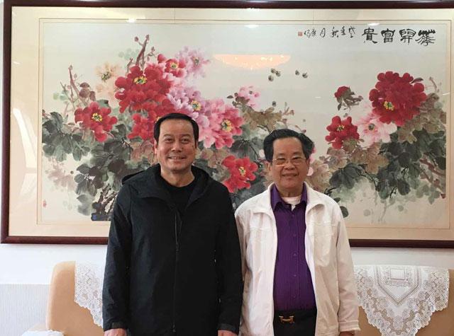 吴继垣会长率缅甸中华总商会代表团赴中国南宁、成都、昆明访问
