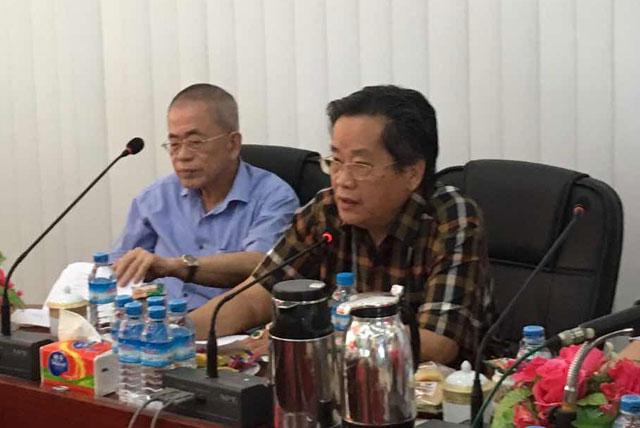缅甸中华总商会欢迎中国宝鸡市国际交流考察团来访