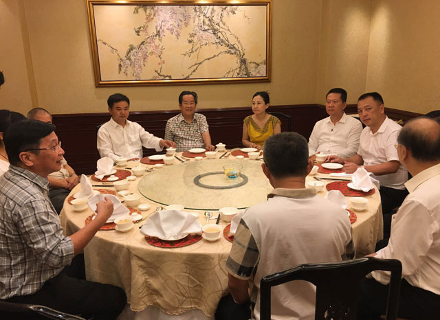 缅甸中华总商会吴继垣会长亲切会见云南省德宏州考察团客人