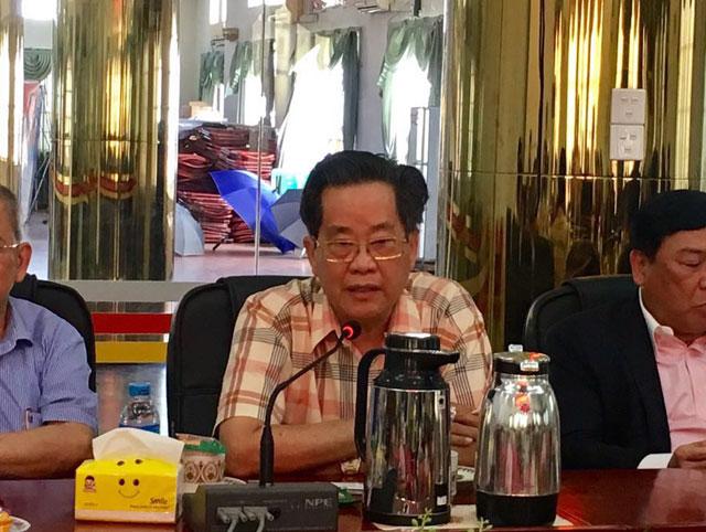 缅甸中华总商会热烈欢迎澳门缅华工商促进会代表团访缅