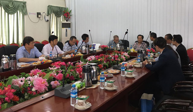 """缅甸中华总商会欢迎""""中国——企业家论坛""""代表团"""