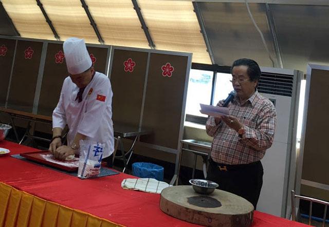 """由缅甸中华总商会协办的 """"文化中国,味道云南""""缅甸厨艺培训展示在仰光举行"""