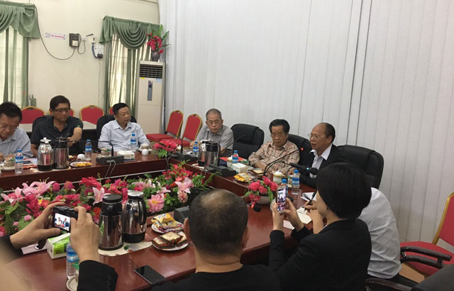 缅甸中华总商会欢迎中国侨商联合会代表团来访