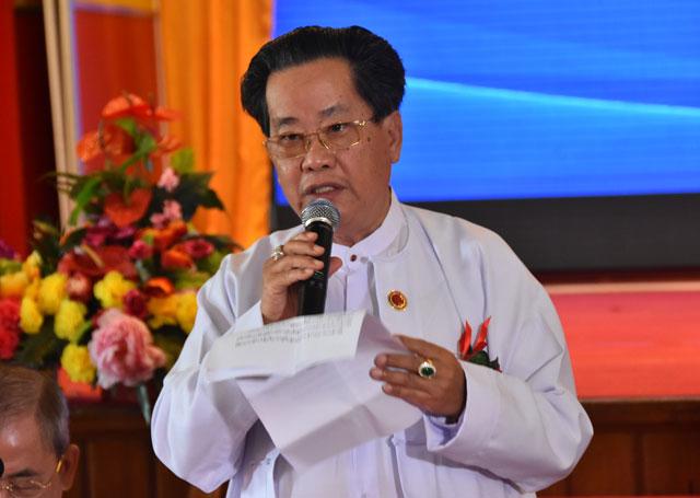 缅甸中华总商会隆重举行第十四届世界华商大会新闻发佈会