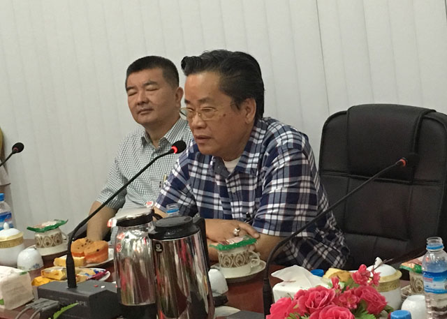 北京缅甸归侨联谊会访问缅甸中华总商会