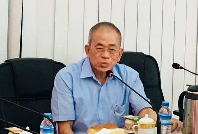 缅甸中华总商会热烈欢迎中国银行(香港)代表团