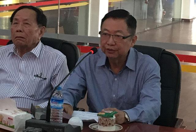 缅甸中华总商会热烈欢迎马来西亚下霹雳中华工商总会代表团的到访