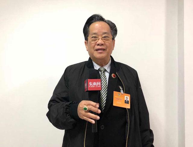 缅甸中华总商会吴继垣会长出席福建省第十二届政协第一次会议