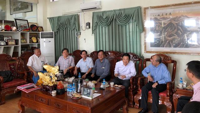 缅甸中华总商会欢迎在缅中资企业来宾