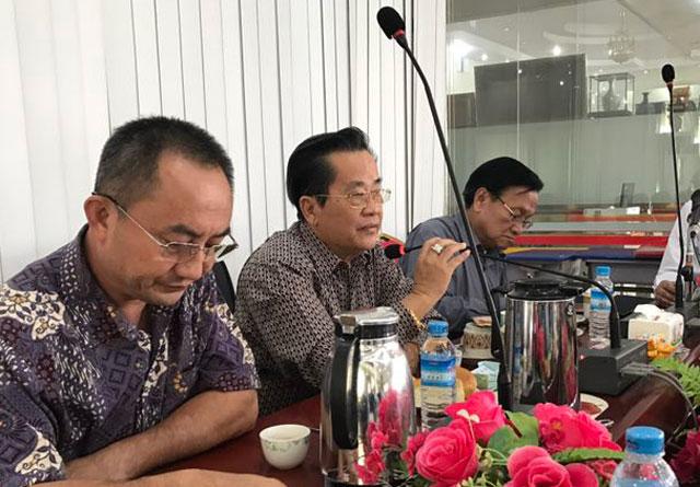 缅甸中华总商会欢迎到访的香港工商业考察团