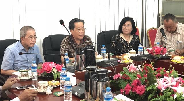 缅甸中华总商会与江西省外事侨务办公室签署合作协议书