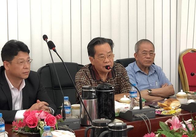 缅甸中华总商会热烈欢迎中国工商银行仰光分行行长一行代表团