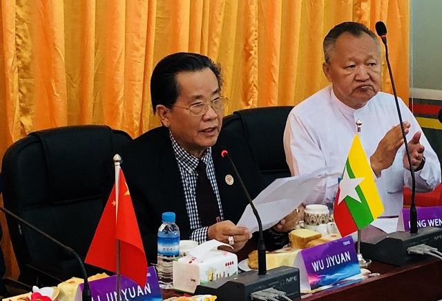 """缅甸中华总商会与天狮集团举行""""双方战略合作""""新闻发布会"""
