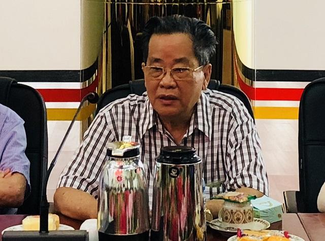 缅甸中华总商会热烈欢迎四川省投资促进局代表团到访