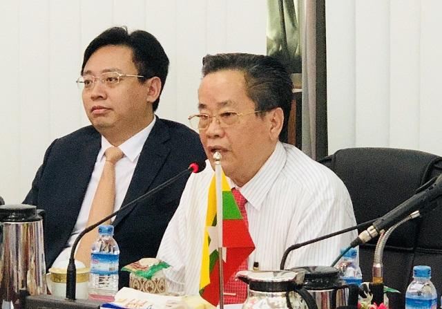 缅甸中华总商会热烈欢迎山东省德州市人民政府陈飞市长代表团一行