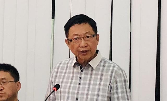 缅甸中华总商会热烈欢迎中国国际贸易促进委员会天津市分会段益民副会长一行代表团