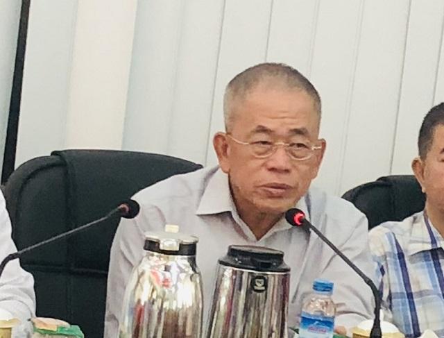 缅甸中华总商会热烈欢迎江苏省党组书记、工商联常务副主席顾万峰先生一行代表团