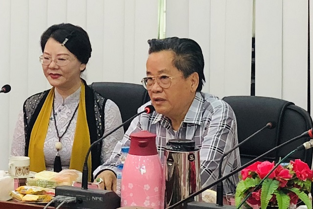 缅甸中华总商会热烈欢迎中国抗战将领、远征军将士后裔、民革北京西城区祖国统一专委会一行代表团