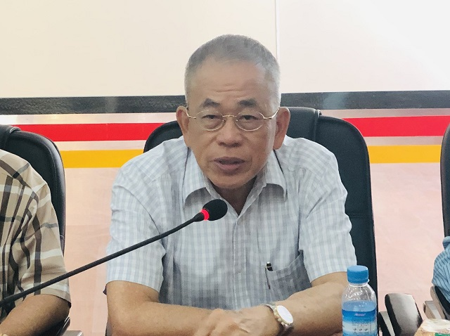 中缅经济合作发展促进会李福泉会长一行代表团拜访缅甸中华总商会