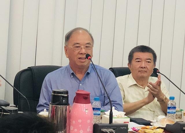 缅甸中华总商会热烈欢迎南宁市贸促会盘业斌团长一行代表团到访