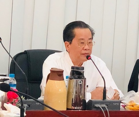 热烈欢迎重庆市商务委员会许新成副主任一行代表团到访缅甸中华总商会