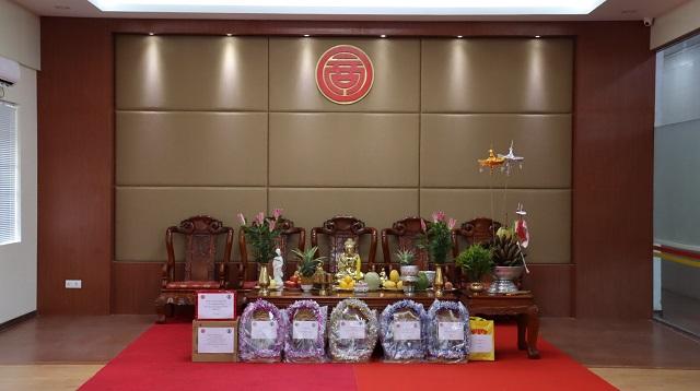 缅甸中华总商会瓦梭月盈节活动