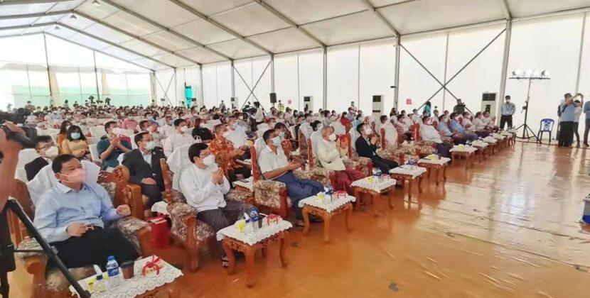 创多个第一 缅甸中华总商会自愿自费接种中国国药疫苗圆满完成 第二批接种启动筹备