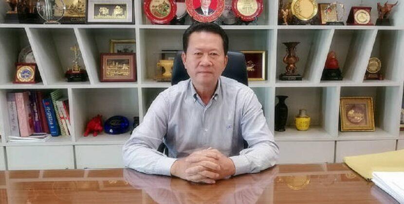 缅华网专访了林文猛会长