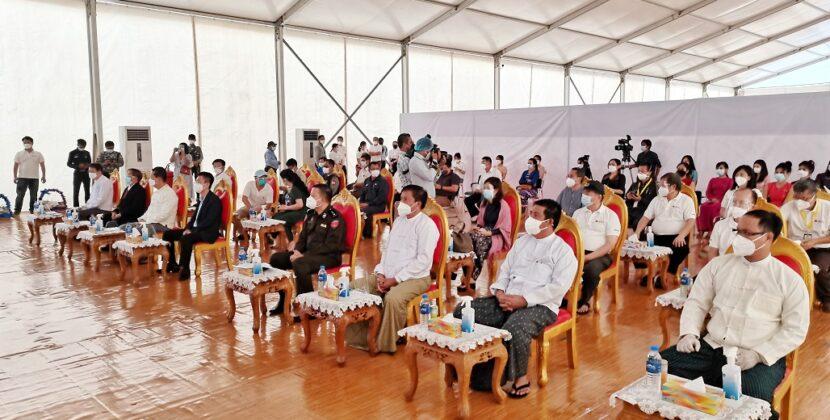 缅甸抗疫有我华人! 缅甸中华总商会仰光疫苗接种中心正式启动